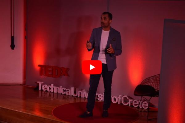 Ο Νικόλας Σμυρνάκης στο TEDx | Μπορούμε να δημιουργήσουμε ό,τι επιθυμούμε;
